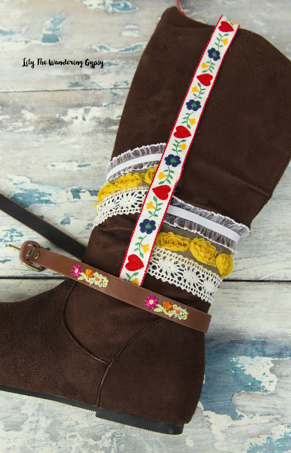 How To Make Boho Fringe Festival Boots