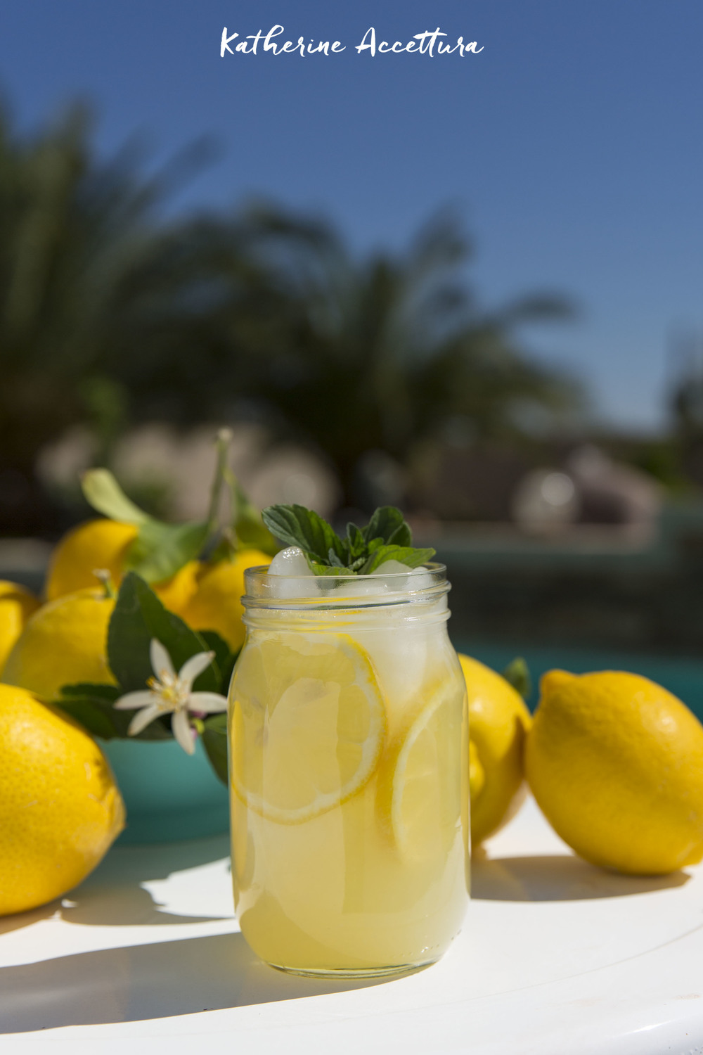 Check out this awesome fresh squeezed lemonade recipe