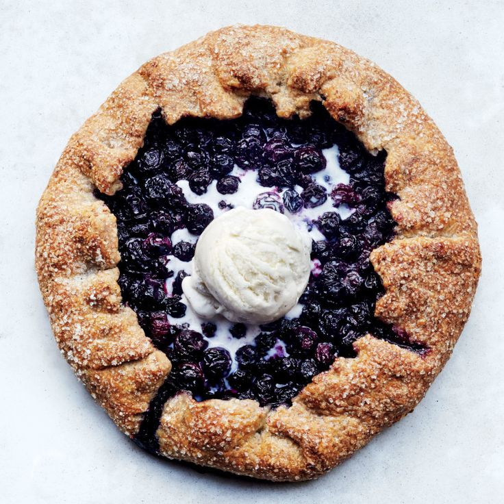 Blueberry - Pecan Galett e