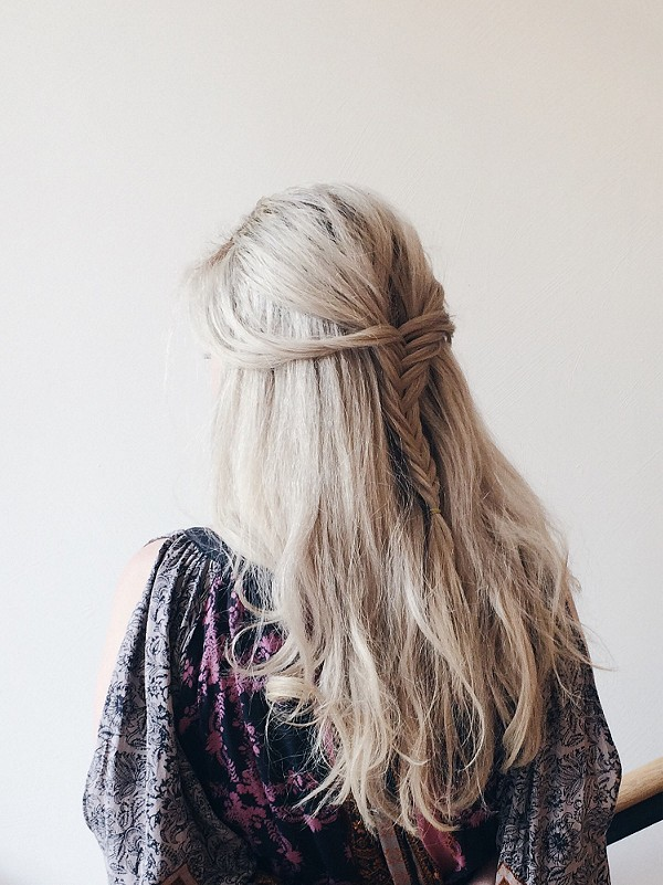 Gorgeous Hair + Outfit.  Found Here .