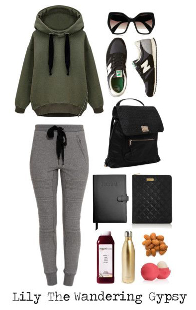 This comfy outfit  and other essentials are great for a road trip.