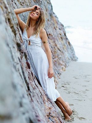White Beach Ready Dress