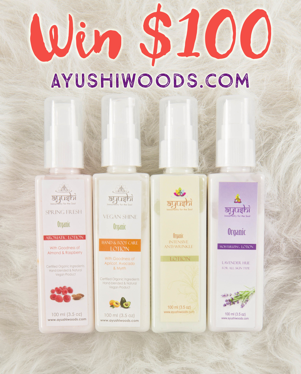 Win $100 Worth of Products