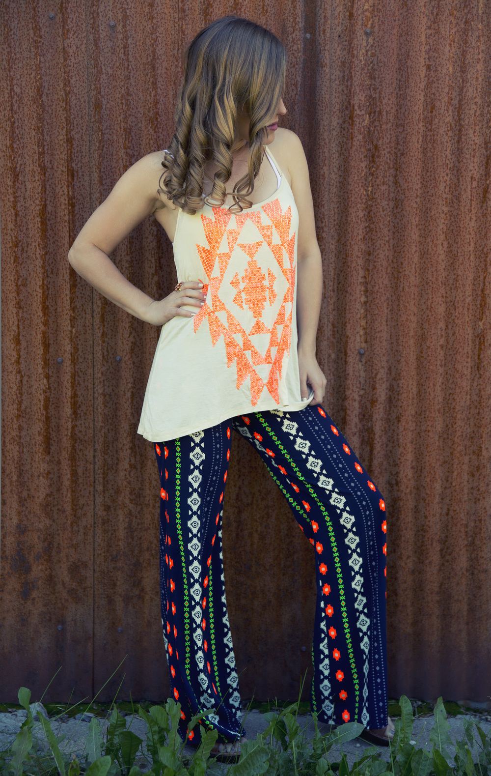 Aztec Neon Outfit - Photo by Katherine Accettura