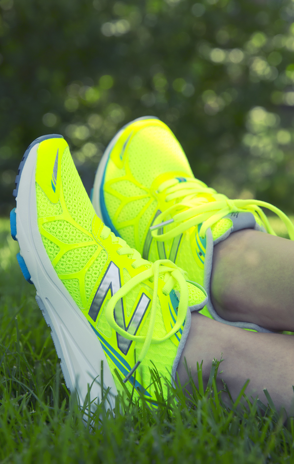 Neon Sneakers! Photo by Katherine Accettura