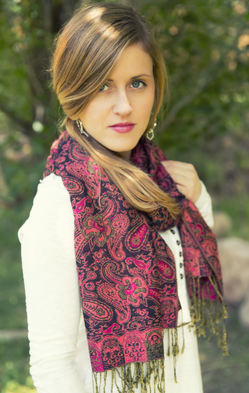 Pashmina Scarf - Photo by Katherine Accettura