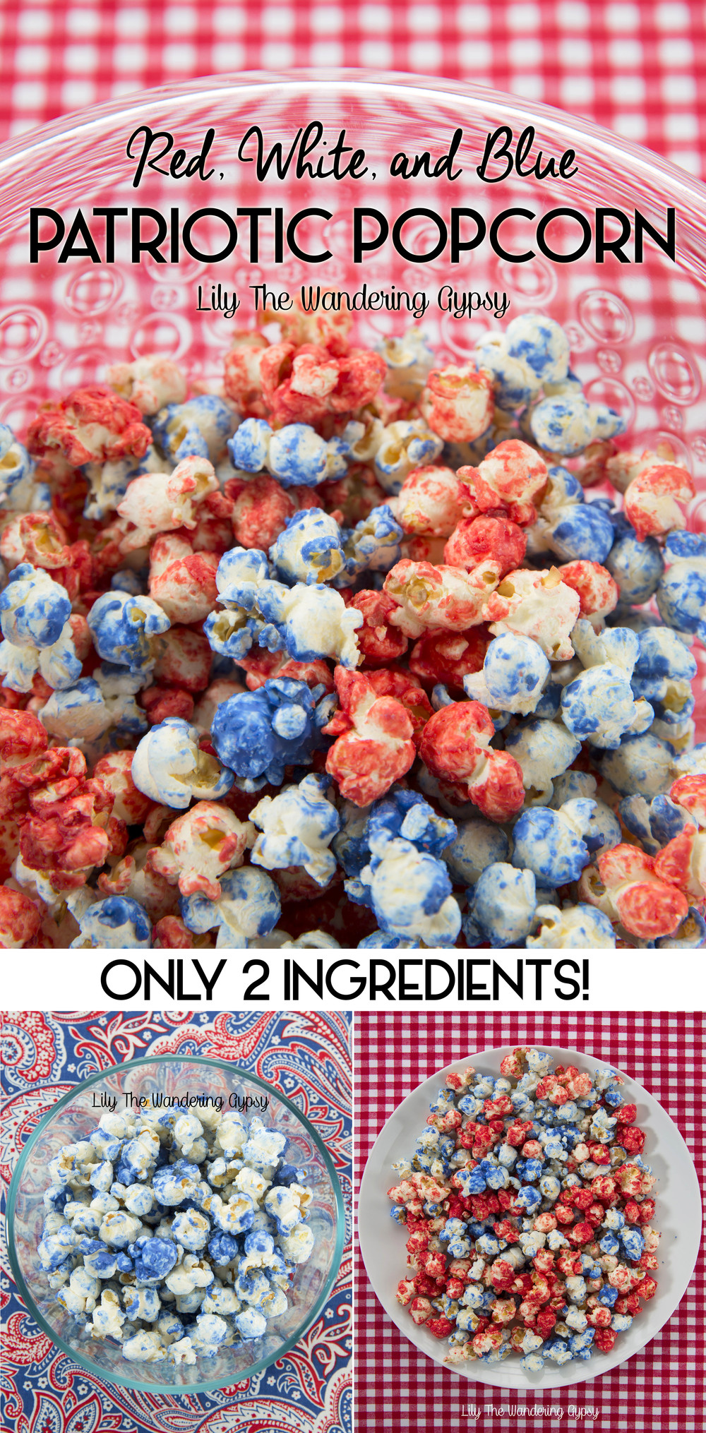 Patriotic Pop Corn