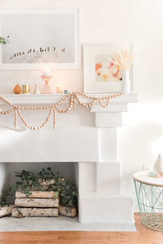 DesignLoveFest -  Wooden Beaded Garland