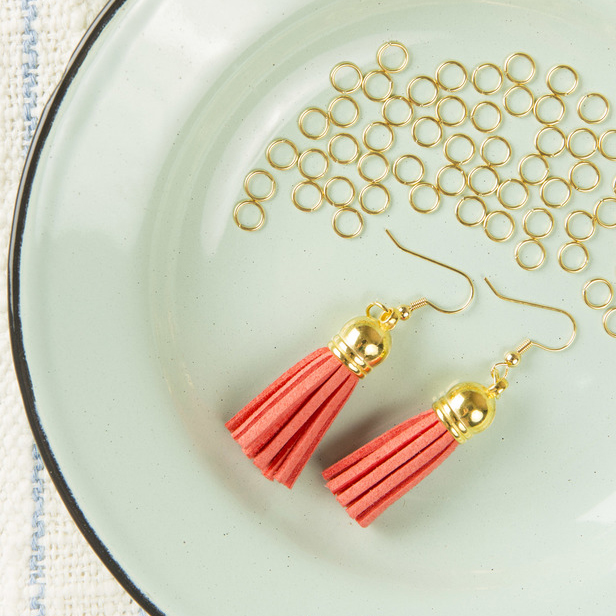 Super Easy Tassel Earrings