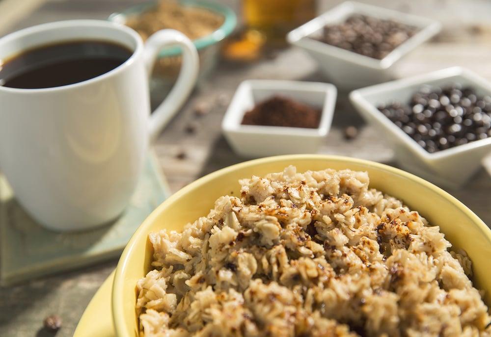 Coffee Infused Oatmeal