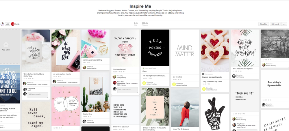 Inspire Me Board On Pinterest