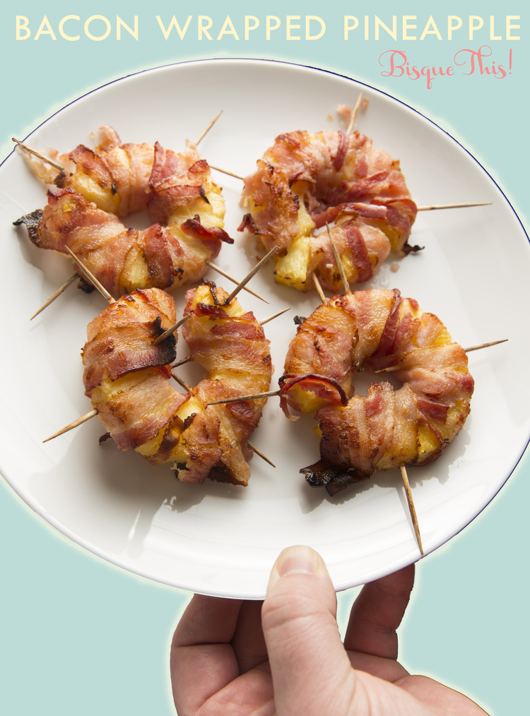Bacon Wrapped Pineapples