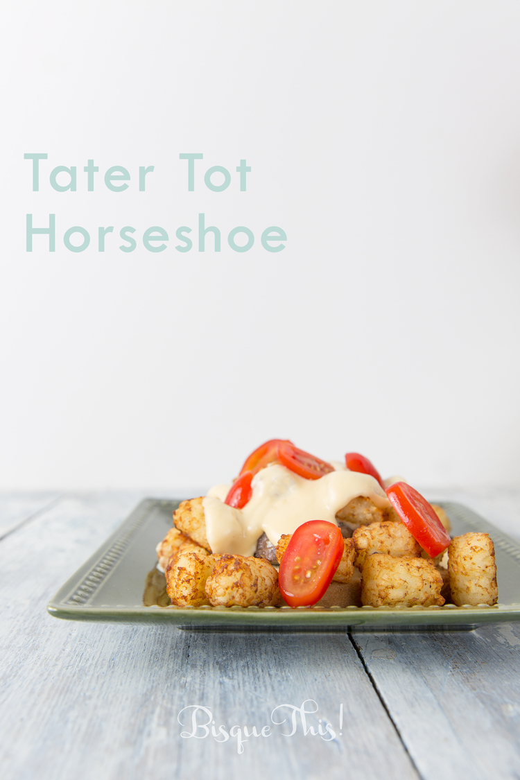 Tater Tot Horseshoe Recipe