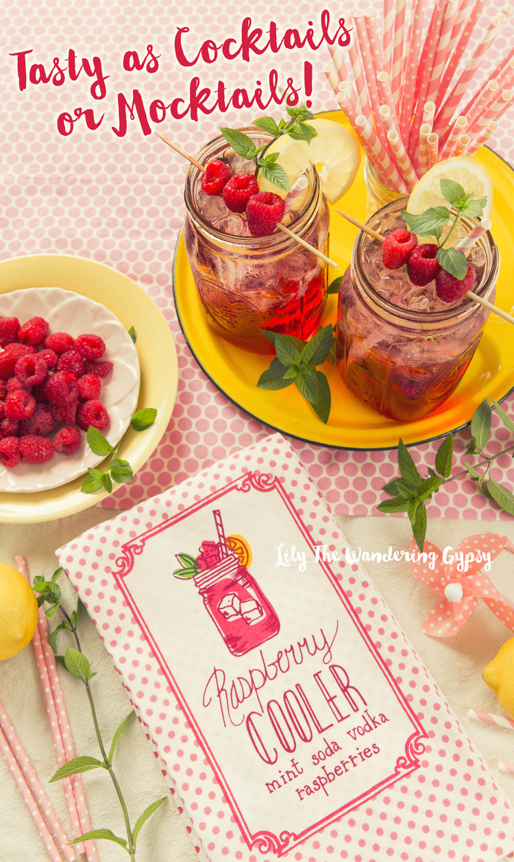 Raspberry Mint Spritzer
