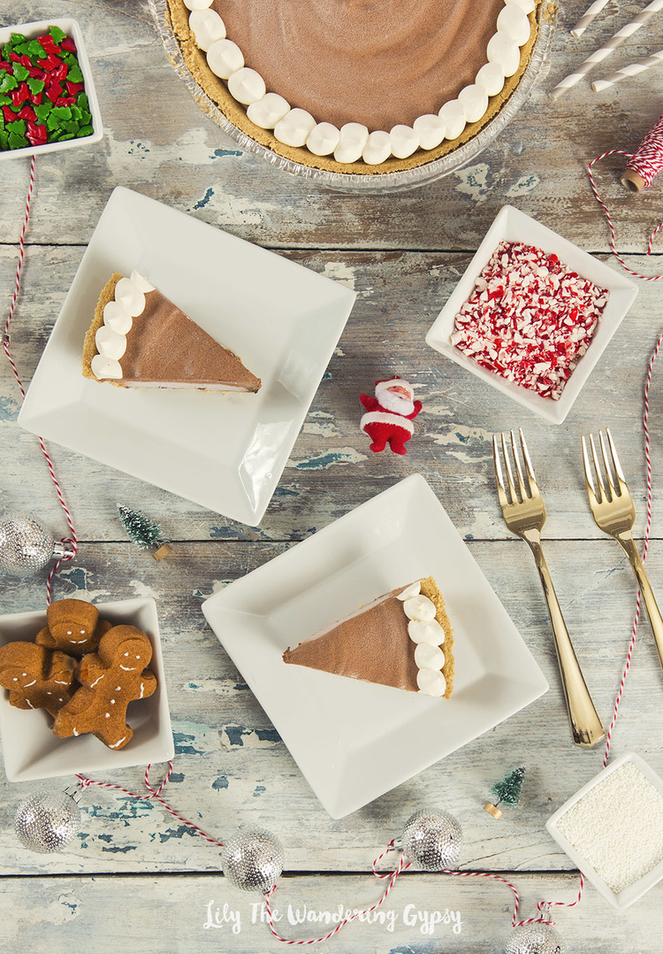 Hot Chocolate Pie