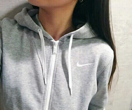 Nike Zip Up Sweatshirt (Shop Here)