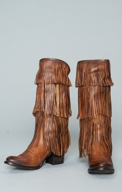 Fringe Boots - Click To Shop