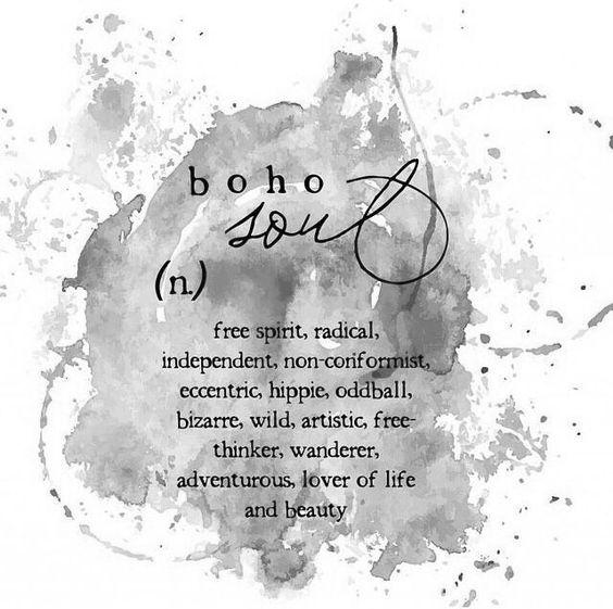 Boho Soul Quote