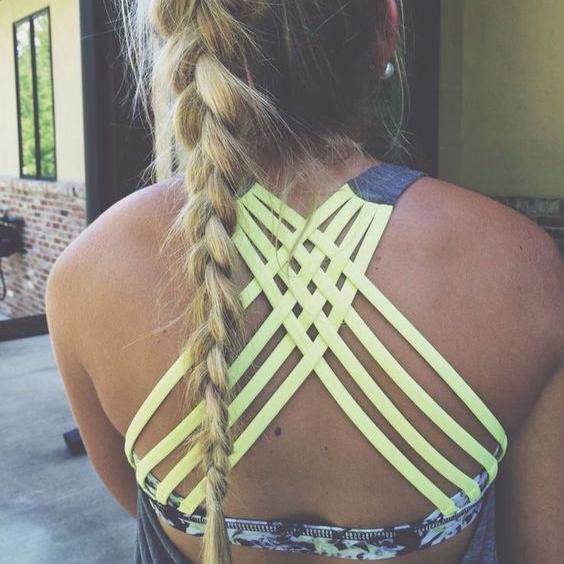 cute sports bra