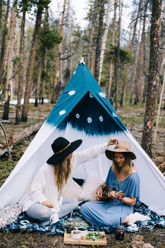 Boho Festival Camping