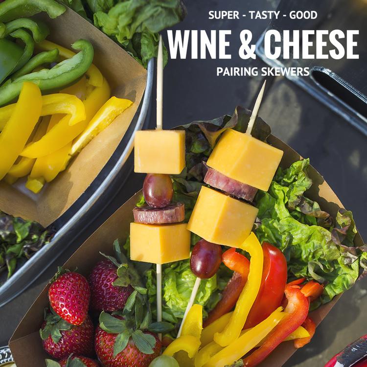 Wine & Cheese Pairing Skewers - Get The Recipe