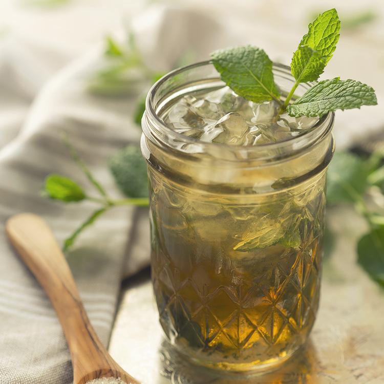 Organic Mint Julep - Get The Recipe