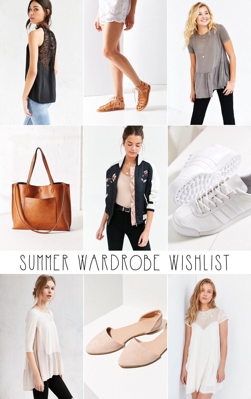 Summer Wardrobe Wish List - Lily The Wandering Gypsy