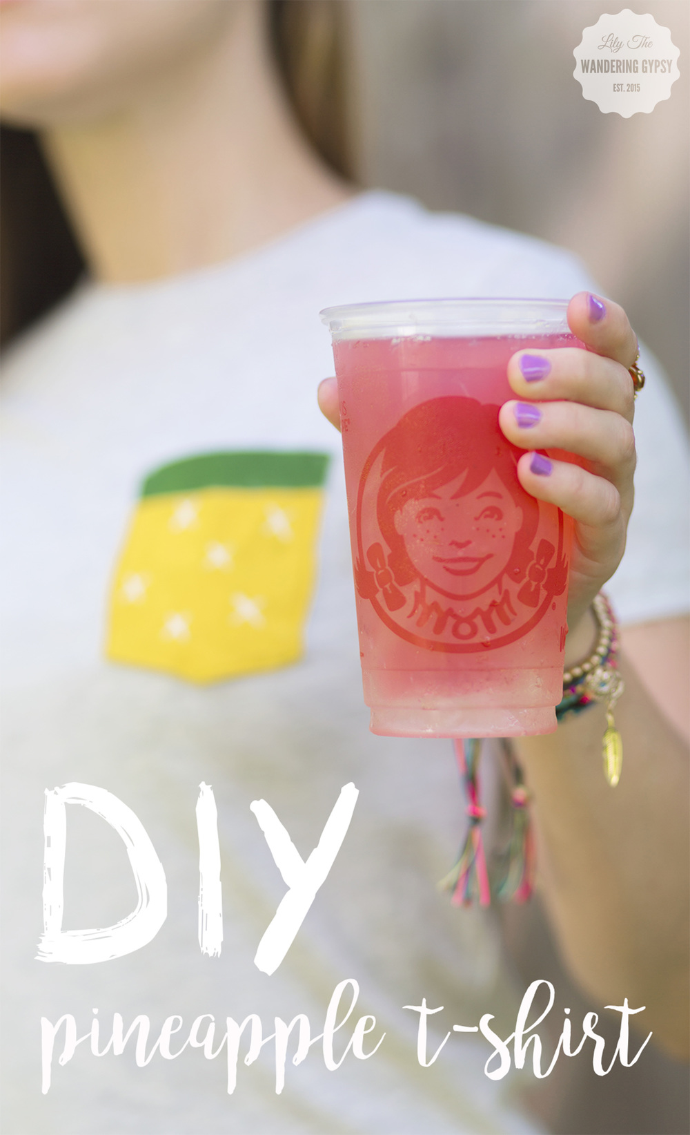 DIY Pineapple Tee!