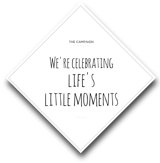 celebrate life's little moments