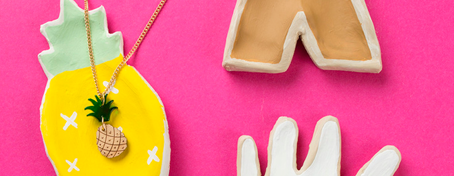 DIY Cookie Cutter Trinket Trays