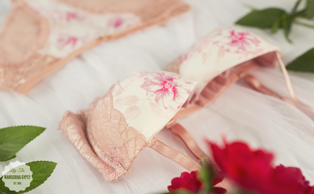 Fabulace Pastel Floral Bra