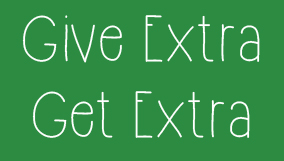 give extra get extra