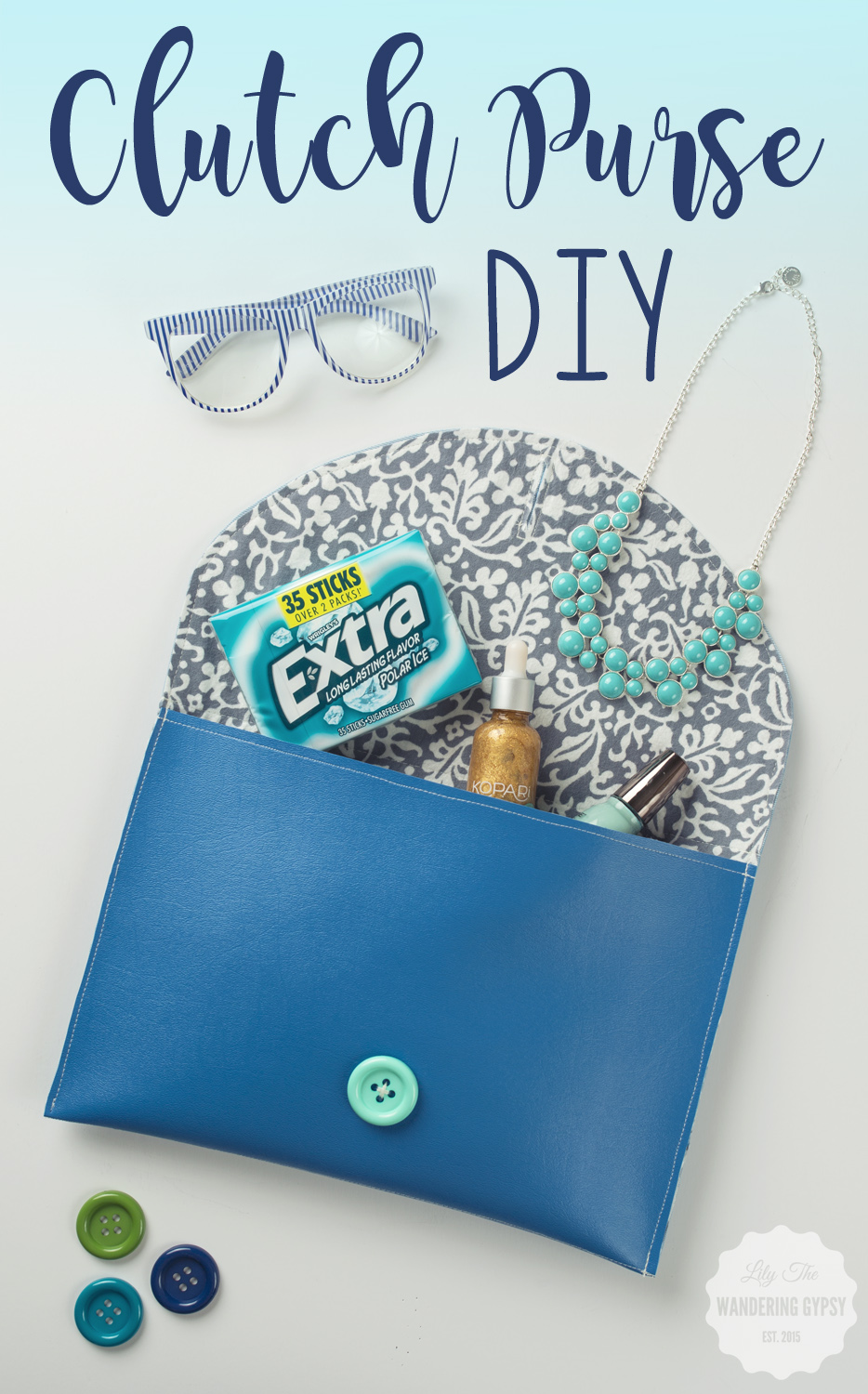 Clutch Purse DIY