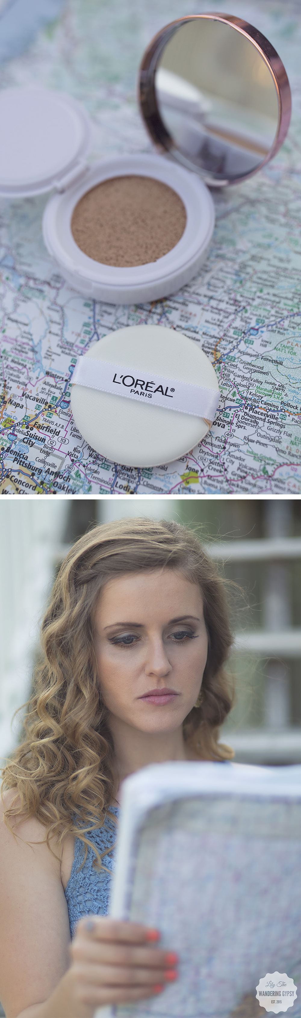 L'Oreal + Lily The Wandering Gypsy