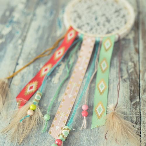 Boho Dreamcatcher DIY