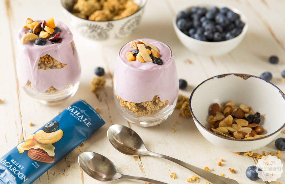 Blueberry Granola Parfait Recipe