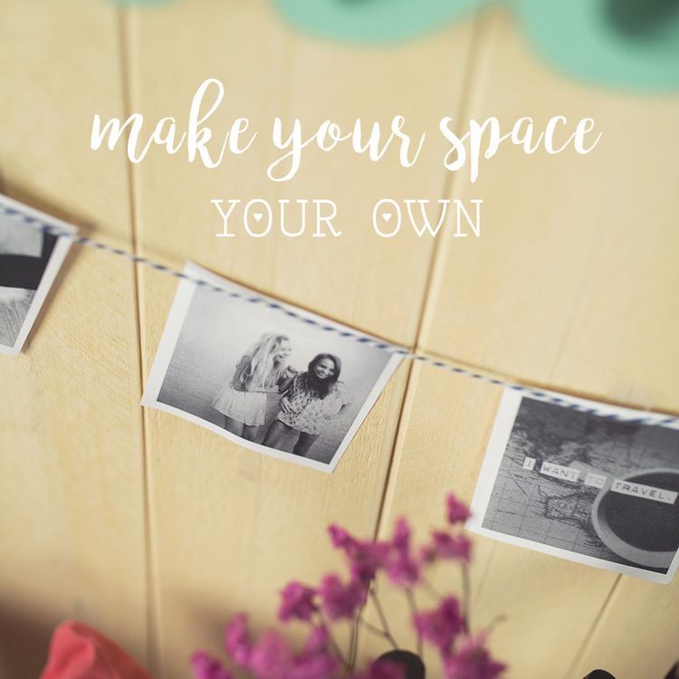 Cute DIY Dorm Decor with Big Lots