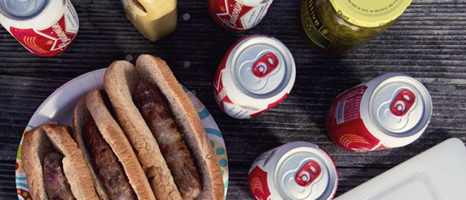 Beer Brats! Perfect for Fall Grilling. Created for the Missouri Dept. of Tourism!