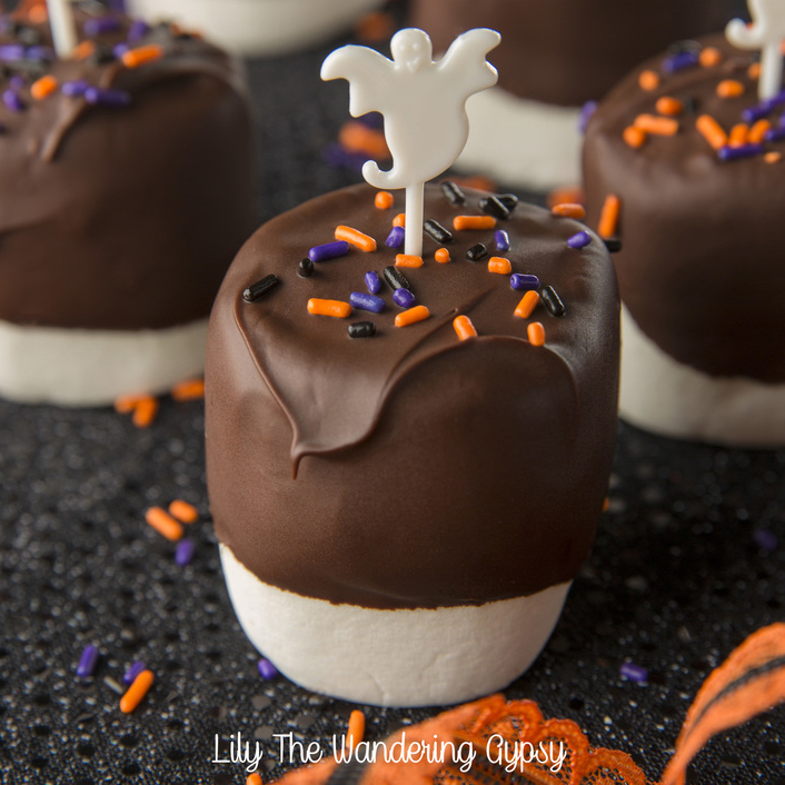 Halloween Marshmallows - Get The Recipe