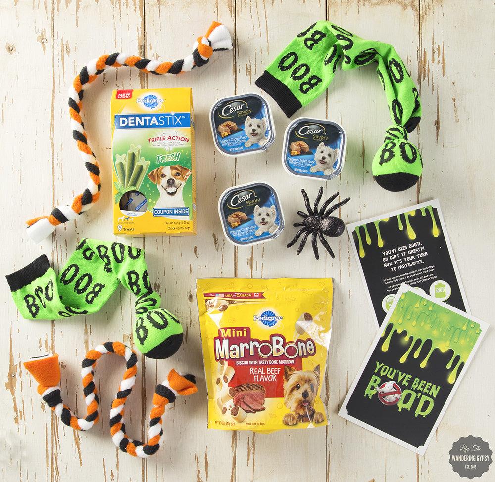 Halloween Puppy Gift Basket