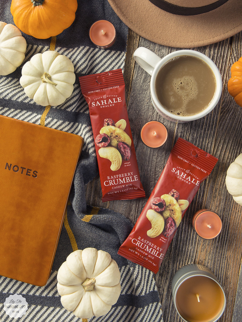 Sahale Snackers For Fall