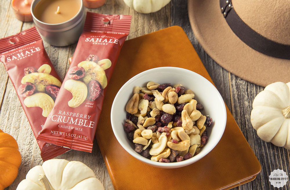 Welcome Fall with Sahale Snacks