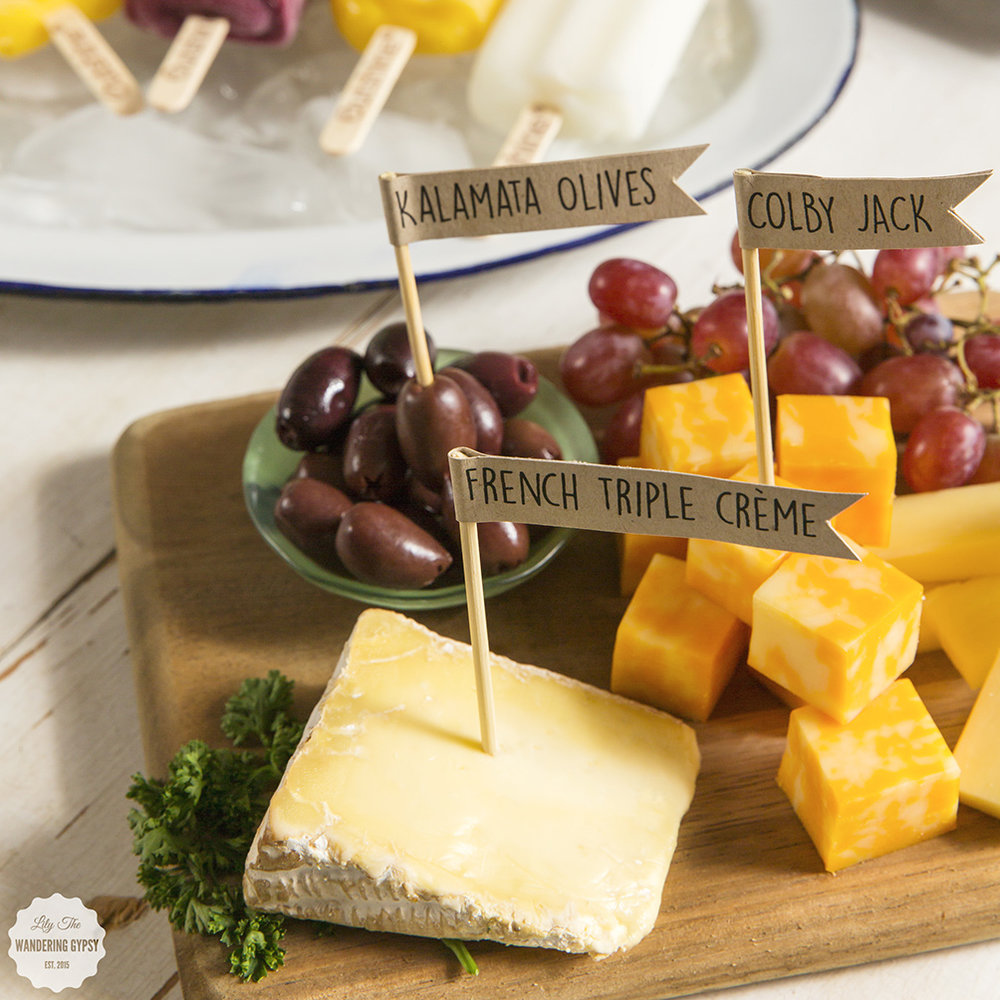 DIY Cheese Plate - Get The Recipe