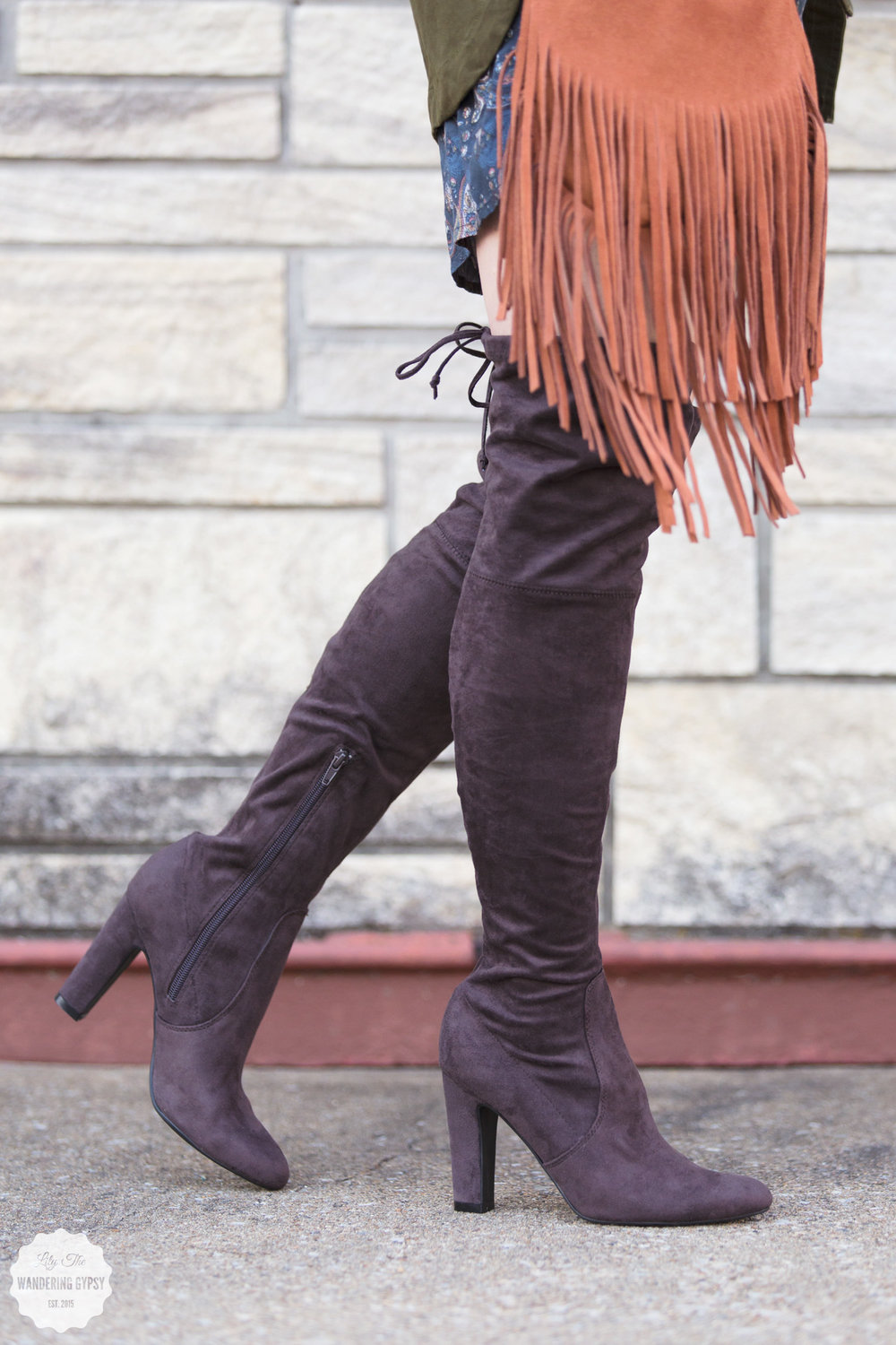 #MyDSW Over The Knee Boots for Fall