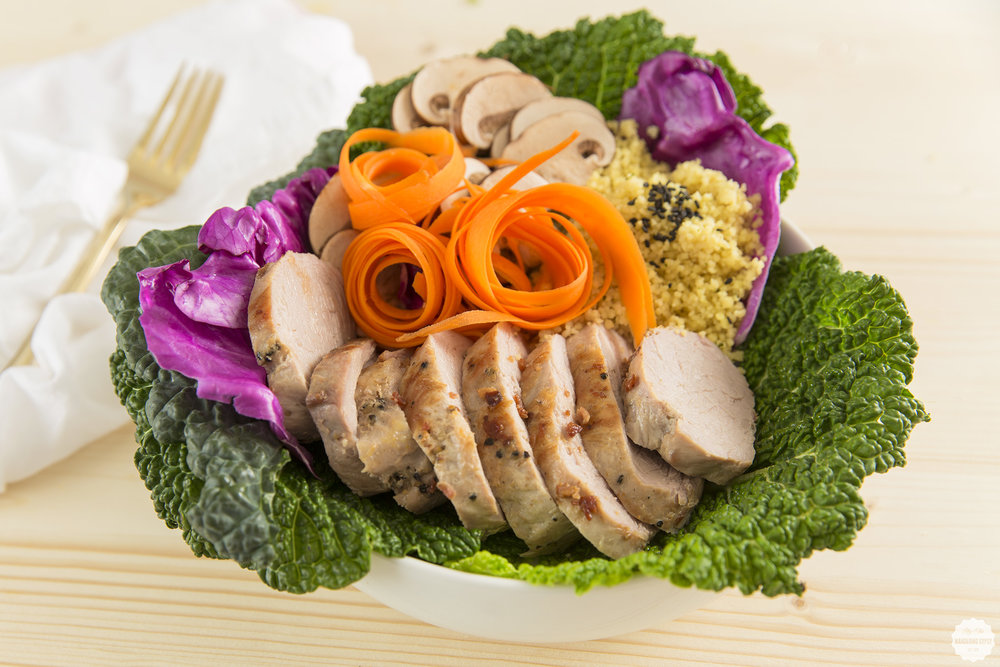 #RealFlavorRealFast - Pork & Cabbage Nourishment Bowl Recipe