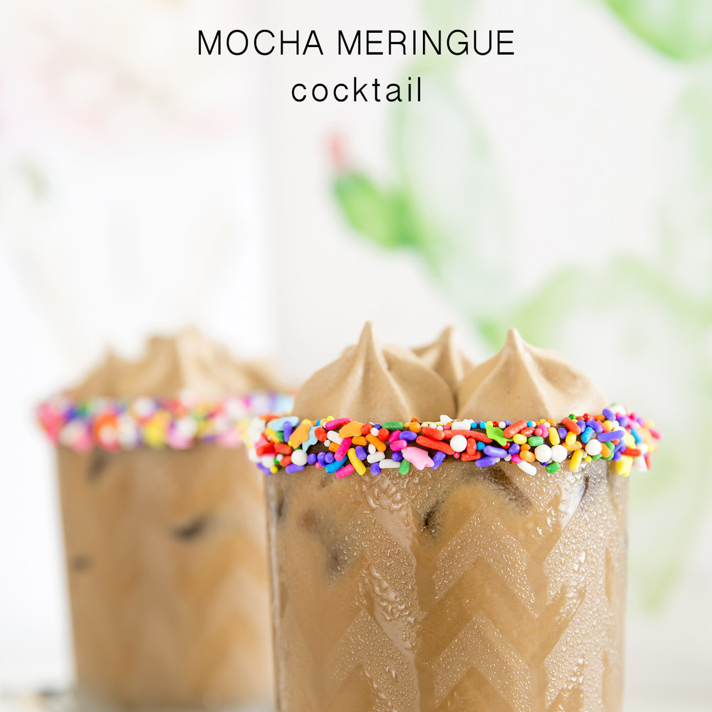 Mocha Meringue Cocktail - Get The Recipe