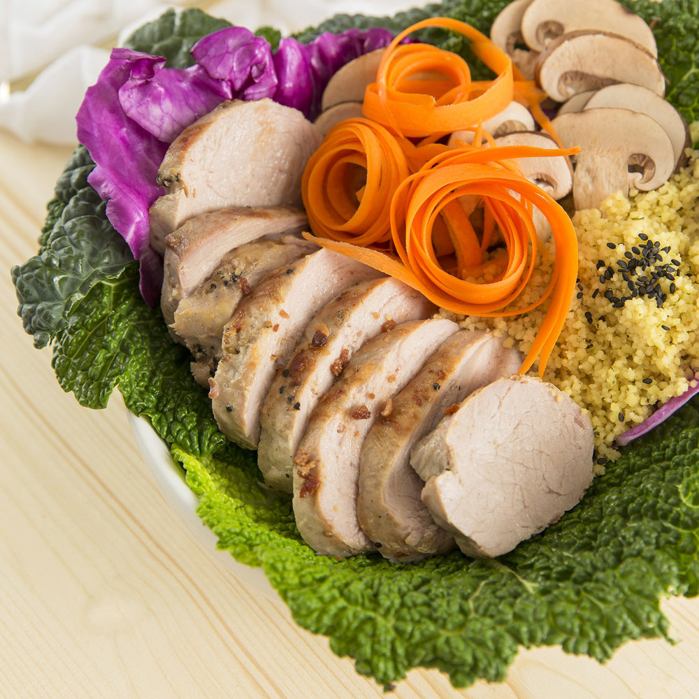 Pork + Cabbage Nourishment Bowl