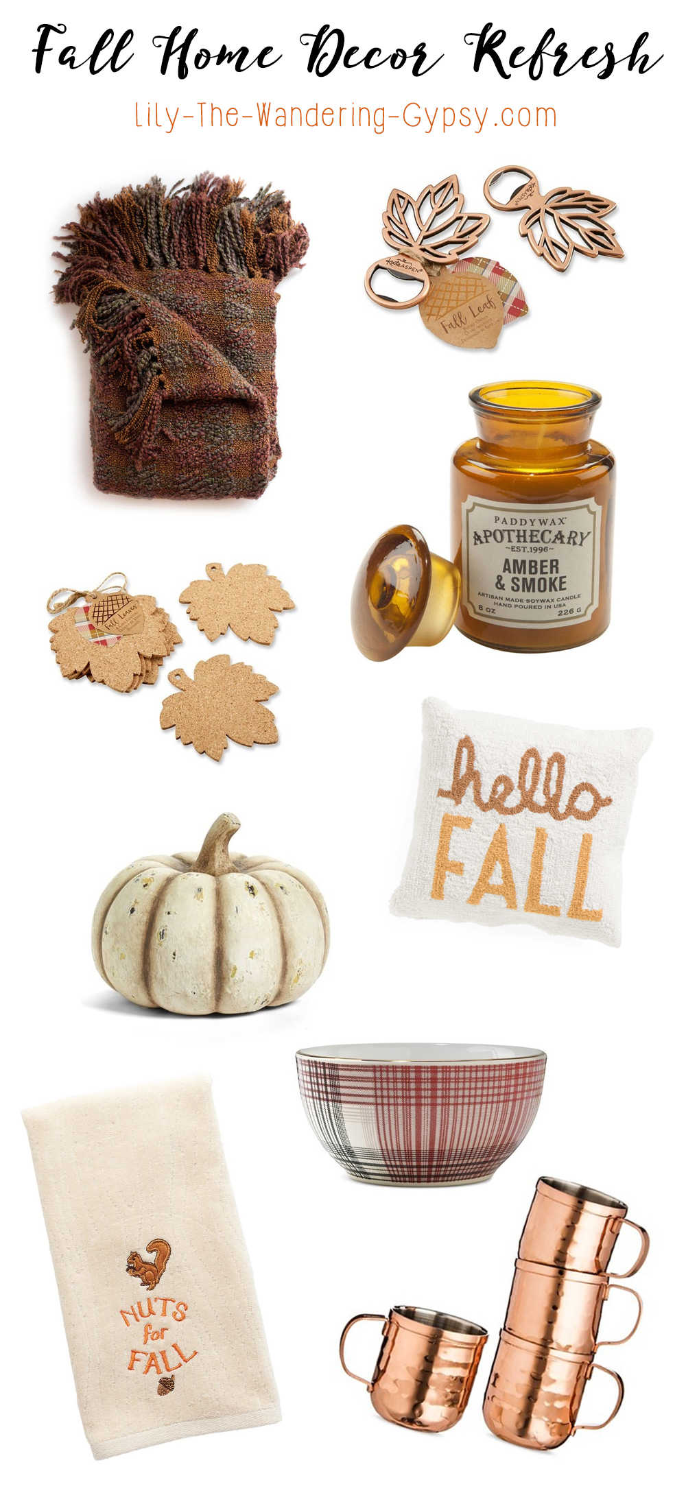 Fall Home Decor Refresh