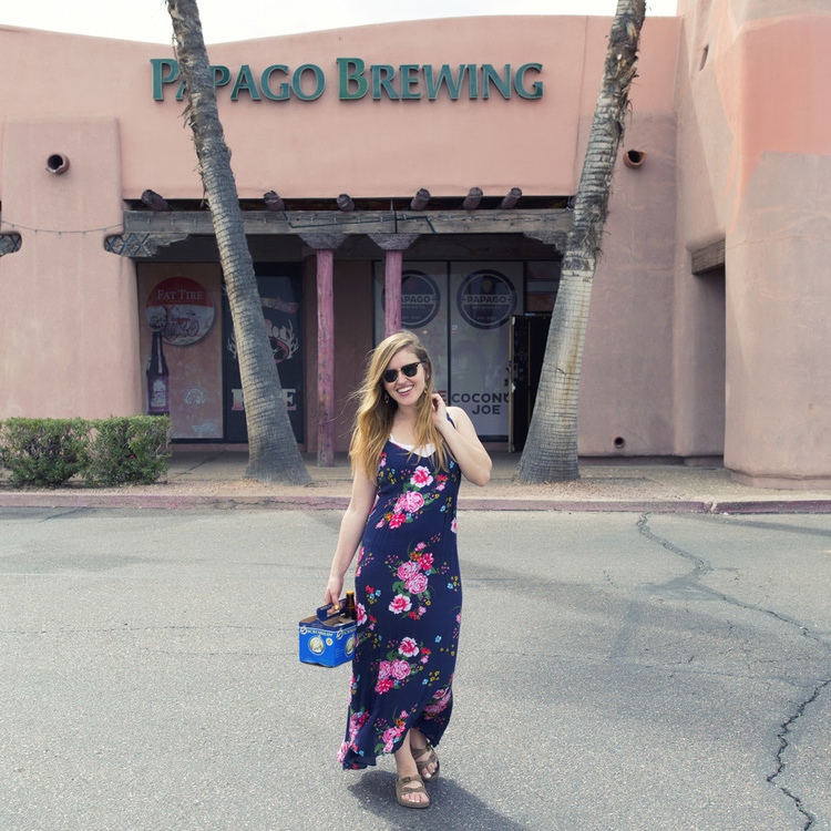 SCOTTSDALE, AZ // PAPAGO BREWING