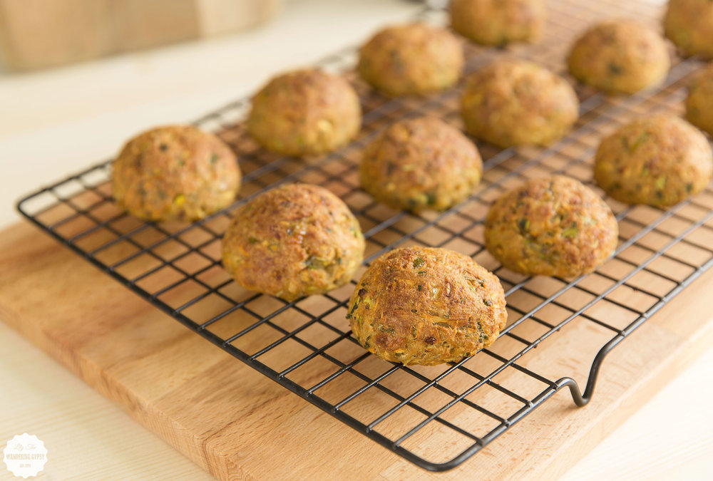 "Vegetarian Zucchini ""Meatballs"" - Lily The Wandering Gypsy"